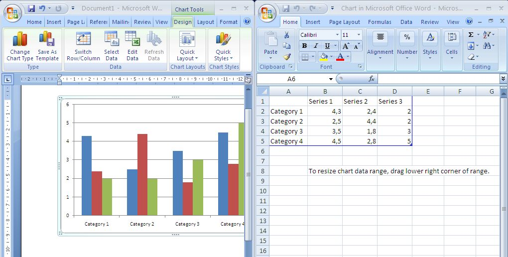 Как сделать график в word 2010 - Visit-petersburg.com